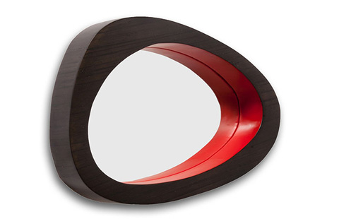 Phillips Collection - Bamboo Abstract Mirror - TH60132