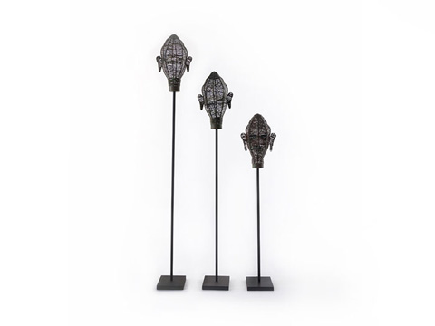 Phillips Collection - Wire Head Sculptures - TH66464