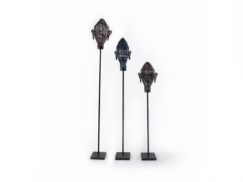 Phillips Collection - Wire Head Sculptures - TH66794