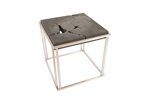 Phillips Collection - Burnt Block Side Table - TH74112