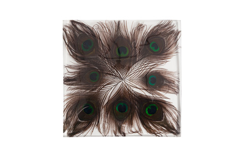 Phillips Collection - Captured Peacock Feather Wall Tile - TH75469