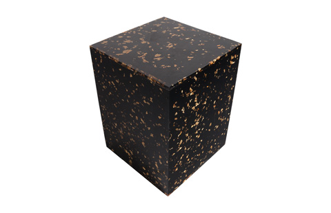 Phillips Collection - Captured Gold Flake Stool - TH76436