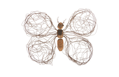 Phillips Collection - Wire Wing Butterfly - TH76841