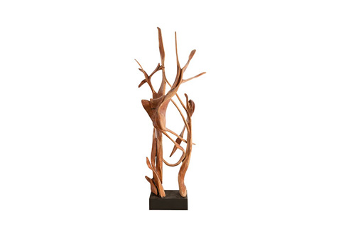 Phillips Collection - Mahoni Wood Sculpture - ID77000
