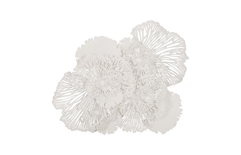 Phillips Collection - Flower Wall Art White - TH80000