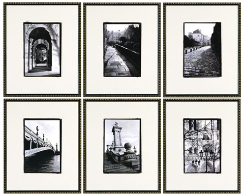 The Picture Source - Images Of Paris - Set Of 6 - ACD602S6