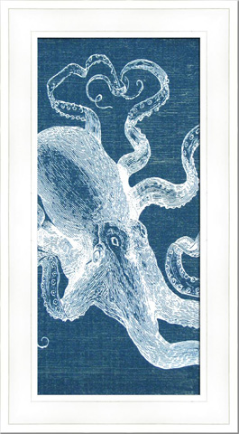 The Picture Source - Denim Wash Octopus - AKN105B