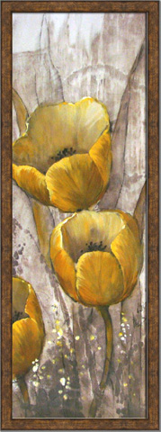 The Picture Source - Ochre Tulips I - AKO275A