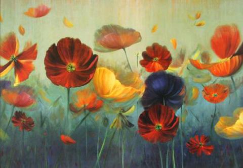 The Picture Source - In A Garden - CBI504