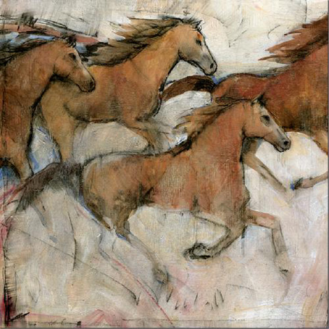 The Picture Source - Horse Fresco I - CWO122A