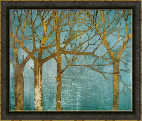 The Picture Source - Golden Day - Turquoise - GA154