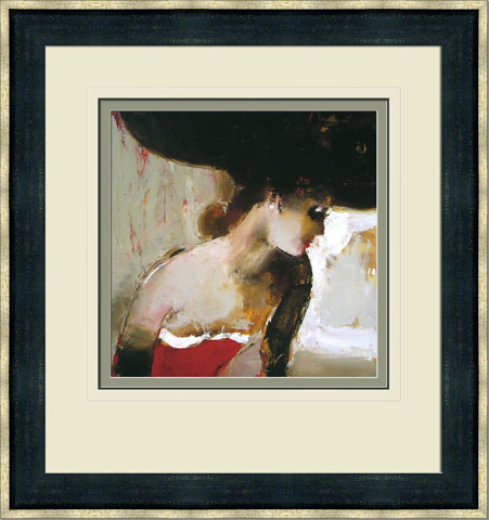 The Picture Source - Lady In Red - I109B