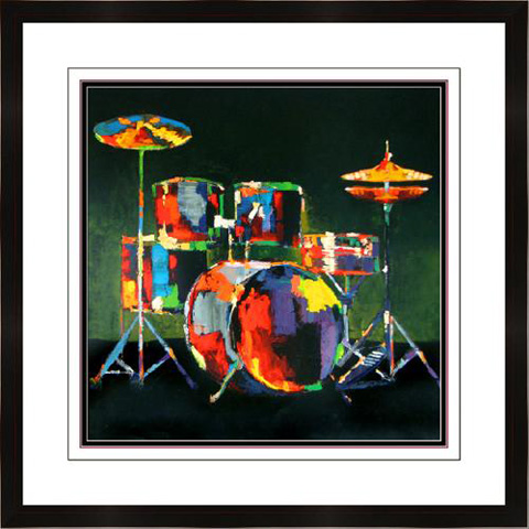 The Picture Source - Drum Set - M135A