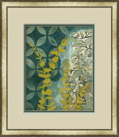 The Picture Source - Peridot Botanical II - M208B