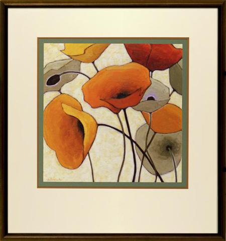 The Picture Source - Pumpkin Poppies III - N021B
