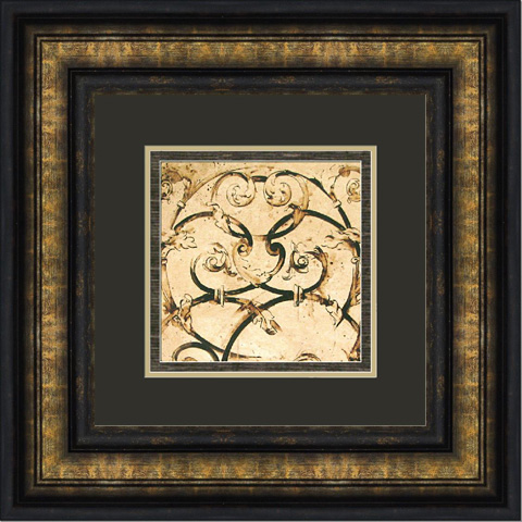 The Picture Source - Classical Scroll Work - P391B