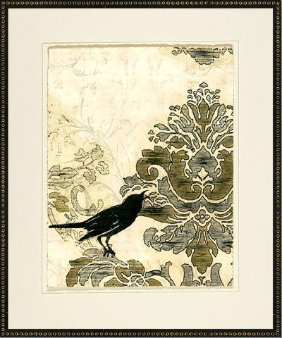 The Picture Source - Damask Songbirds II - V142B