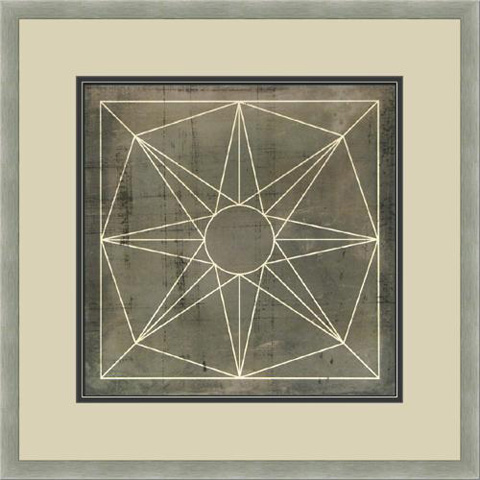 The Picture Source - Geometric Blueprint #8 - V538H