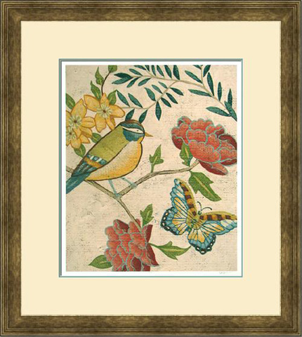 The Picture Source - Antique Aviary I - Z192A