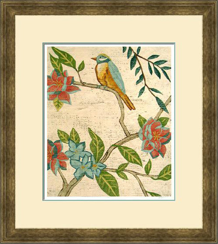 The Picture Source - Antique Aviary IV - Z192D