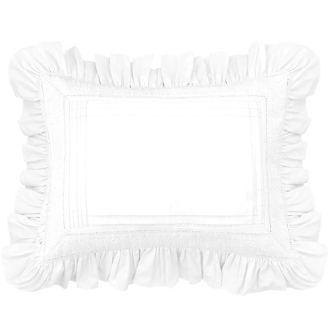 Pine Cone Hill, Inc. - Louisa White Decorative Pillow - SELSBP