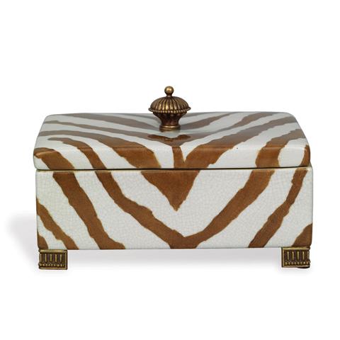 Port 68 - Kenya Safari Box in Brown - ACDS-111-06