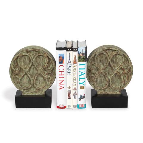 Port 68 - Set of Two Galiano Bookends - ACFM-122-01