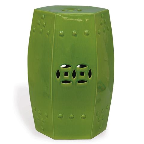 Port 68 - Apple Green Garden Seat - ACFS-109-03