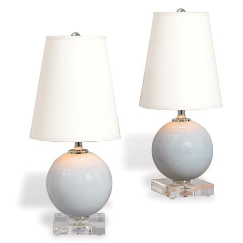 Port 68 - Set of Two Katie Mini Ball Lamp in Smoke - LPAM-150-04