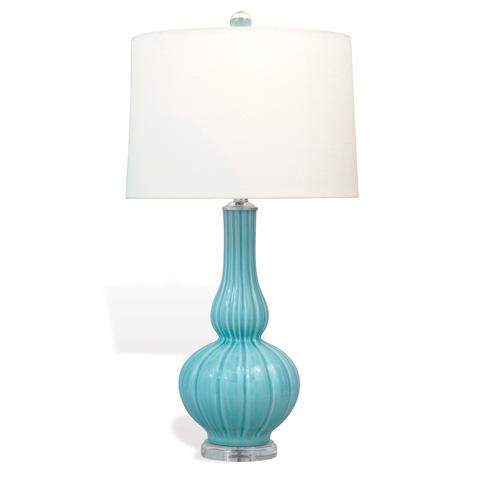 Port 68 - Rex Blue Celadon Lamp - LPAS-106-03