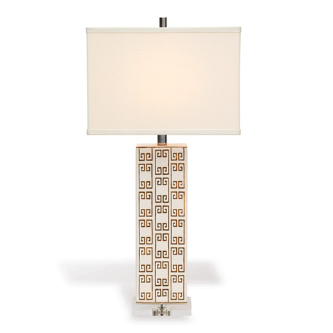 Port 68 - Mizner Key Brown Lamp - LPAS-143-07