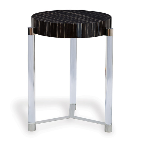 Port 68 - Maxwell Black Accent Table - AFDS-253-06