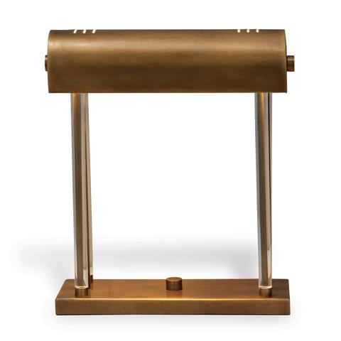 Port 68 - Banker's Brass Lamp - LPAS-240-04
