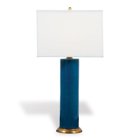 Port 68 - Melrose Turquoise Lamp - LPAS-246-02