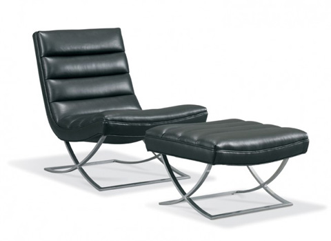 Precedent - Leather Accent Chair - L3185-A1