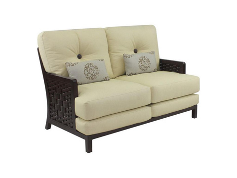 Castelle - Spanish Bay Cushioned Loveseat - 1911R