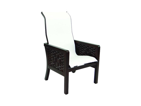 Castelle - Spanish Bay Sling Dining Chair - 1966S