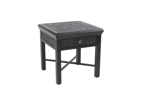 Castelle - Chateau Square Side Table with Drawer - CSS20