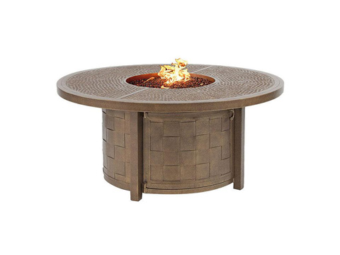 Castelle - Classical Fire Pit Round Coffee Table - VCF48WL