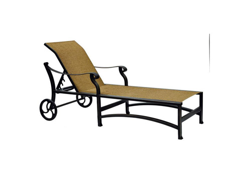 Castelle - Madrid Sling Chaise Lounge - 3892S