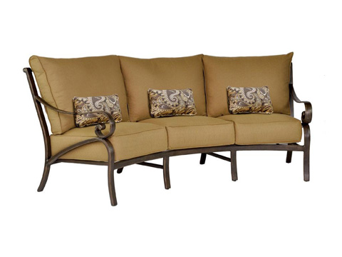 Castelle - Veracruz Cushion Crescent Sofa - 4044T