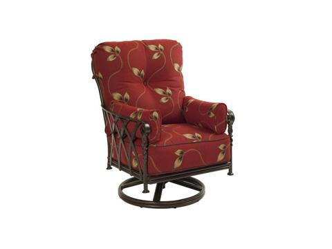 Castelle - Veranda High Back Cushion Lounge Swivel Rocker - 4316T