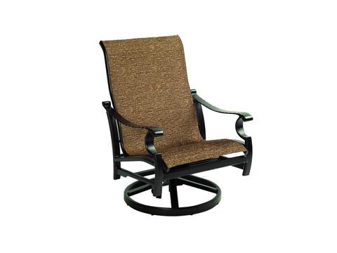 Castelle - Monterey Sling Lounge Swivel Rocker - 5890S