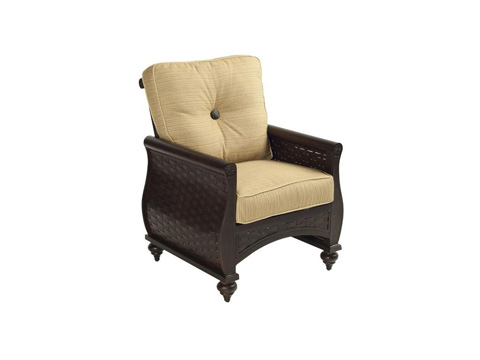 Castelle - French Quarter Cushion Dining Chair - 6806T