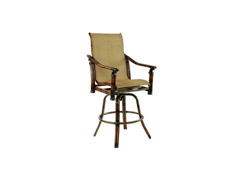 Castelle - Coco Isle High Back Swivel Bar Chair - 8899S