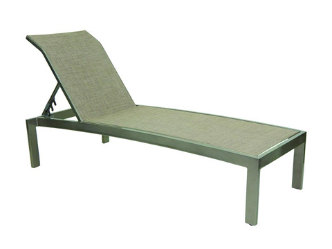 Castelle - Orion Stackable Sling Chaise Lounge - 1072S