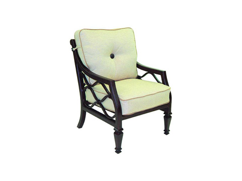 Castelle - Villa Bianca Cushioned Lounge Dining Chair - 1106T