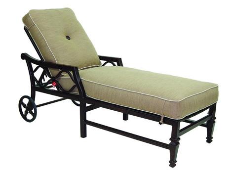 Castelle - Villa Bianca Adjustable Cushioned Chaise Lounge - 1112T