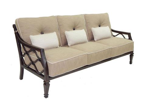 Castelle - Villa Bianca Cushioned Sofa - 1114T