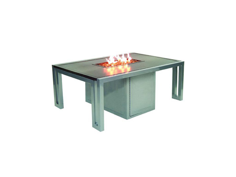 Castelle - Rectangular Firepit Coffee Table - RRF32WL